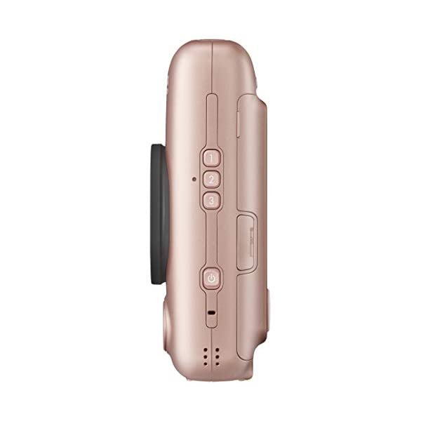 RetinaPix Fujifilm Instax Mini LiPlay Hybrid Instant Camera (Blush Gold)