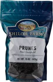Shiloh Farms: Pitted Prunes 15 Oz (6 Pack)