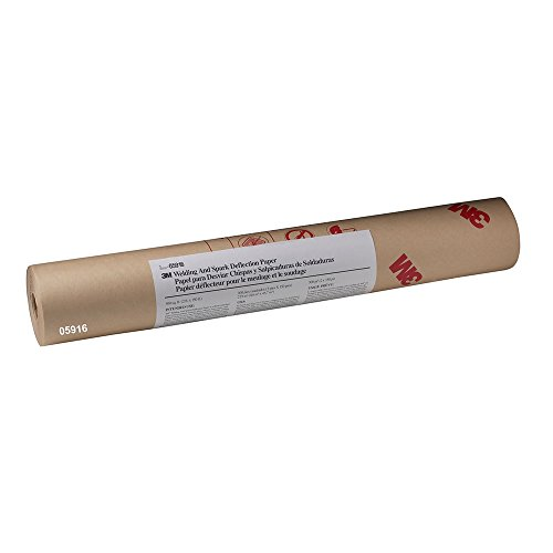 3M Welding and Spark Deflection Paper, 05916, 24 in x 150 ft 3 Meter Welding Paper
