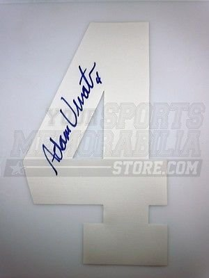 best loved 846a6 a54b9 Amazon.com: Adam Vinatieri New England Patriots Signed ...