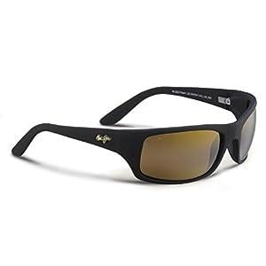 Maui Jim Sunglasses - Peahi / Frame: Matte Black Lens: HCL Bronze Polarized