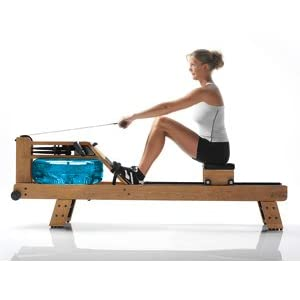 Waterrower Oxbridge Rower Rowing Machine S4 with Hi Rise Attachment