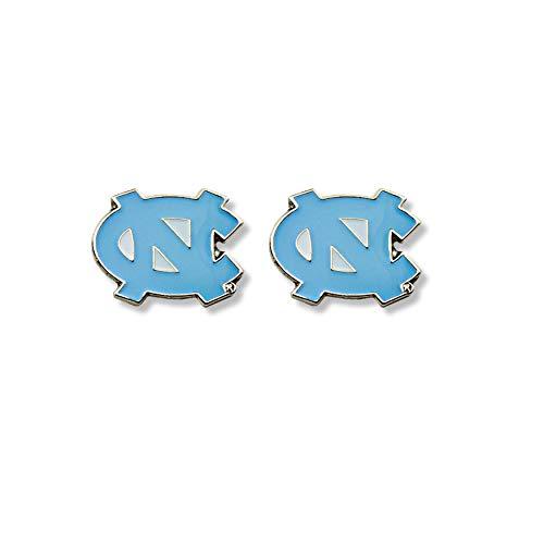 NCAA North Carolina Tar Heels Team Post Earrings