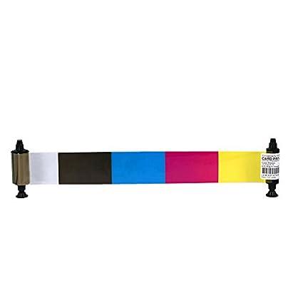 R3411 YMCKO Cinta de Color para Impresora de Tarjetas de ...