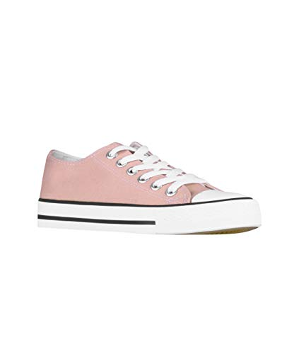 A White Collo KRISP Basso Pink Donna OwT0ddqx4