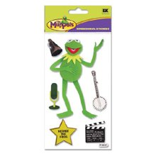 (Disney The Muppets Dimensional Stickers: Kermit The Frog)