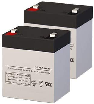 Razor E125 12 Volt 5.5 AmpH Replacement Scooter Batteries - Set of 2