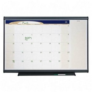 QRTCP43 - Quartet Total Erase Monthly Wall Calendar (Wall Total Erase Calendar Monthly)