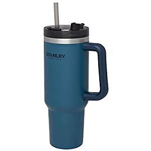 Stanley Adventure Vacuum Quencher, 40 oz, Abyss