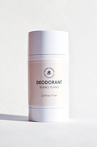 2.5 Ounce Antibacterial (All Natural Unisex Gel Stick Deodorant - With Aloe and Antibacterial Silver Citrate - Vegan Deodorant (Ylang Ylang, 2.5 oz))