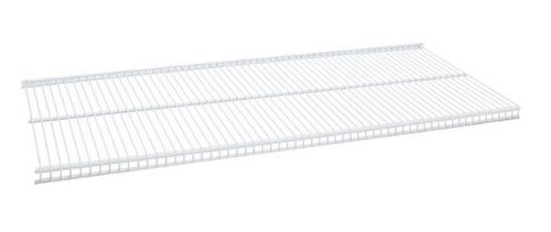 Organized Living freedomRail Ventilated Shelf, 30-inch x 12-inch - White ()