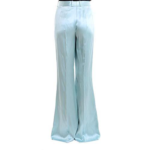 Salvatore Ferragamo Claire Femme Bleu Lin 692284 Pantalon SVGUpqzM