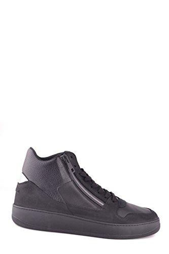 Hogan Hombre MCBI148354O Negro Cuero Zapatillas Altas