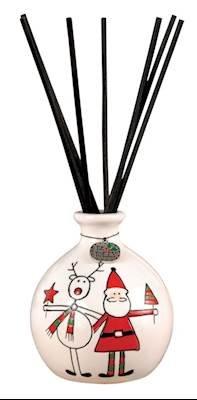 (Pomeroy Merry Christmas Santa Reindeer Reed Diffuser)