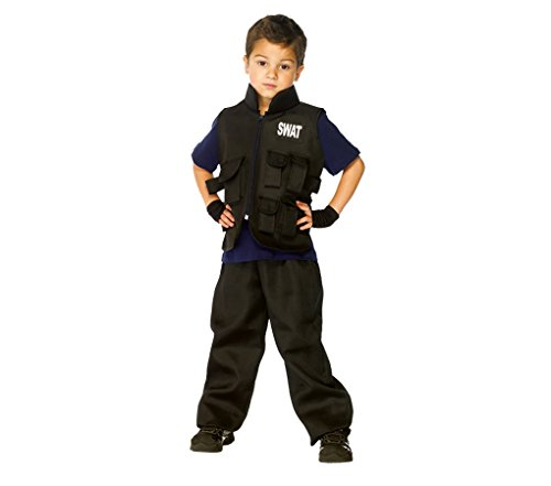 [SWAT Commander Costume - Large] (Swat Vest Costume)