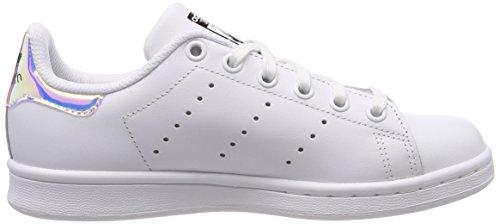 3 de Gymnastique Mixte Chaussures Ftwwht 36 adidas 2 EU Blanc Metsil Smith Stan Ftwwht Multicolore J Enfant White PxIfH