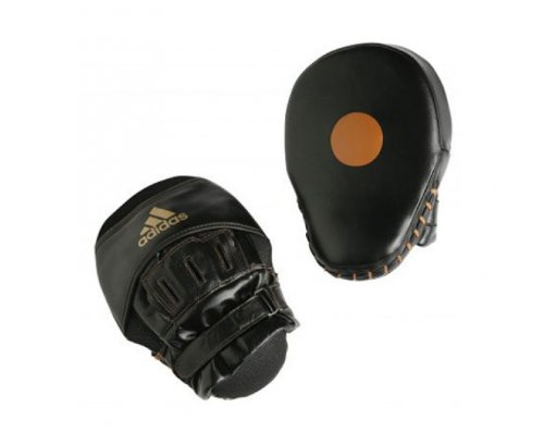 Adidas Short Professional Focus Mitts - Black/White by adidas