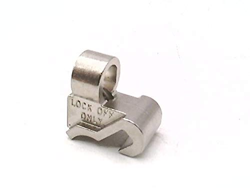 CUTLER HAMMER ISSPE1TE Lockout Attachment, Padlock HASP for MCB Mini Circuit Breaker (Mini Cutler Hammer)