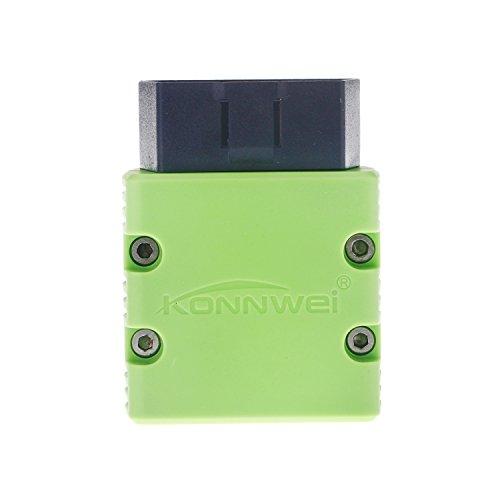 KONNWEI KW902 Mini Bluetooth Wireless OBD-II Car Auto Diagnostic Scan Tools (Green)