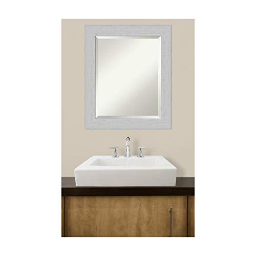 Framed Vanity Mirror Bathroom Mirrors For Wall Shiplap