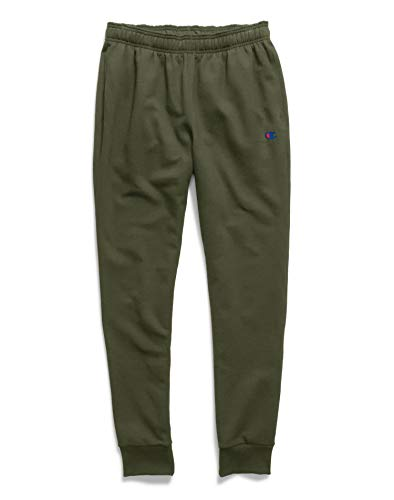 Champion Men's Powerblend Retro Fleece Jogger Pant, Hiker Gr