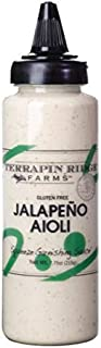 product image for Jalapeno Aioli Garnishing Sauce by Terrapin Ridge Farms – One 7.75 oz Squeeze Bottle