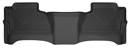 Husky Liners 2nd Seat Floor Liner Fits 14-18 1500, 15-19 2500/3500HD Silverado/Sierra Crew
