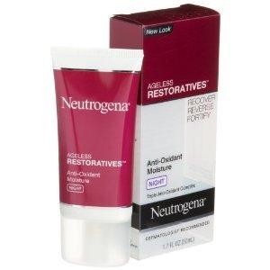 Neutrogena Ageless Restoratives Anti-Oxydant Crème de nuit l'humidité, 1,7 once