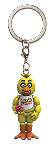 Funko Five Nights at Freddy's Chica Keychain -  Funko Pocket Pop! Keychain: