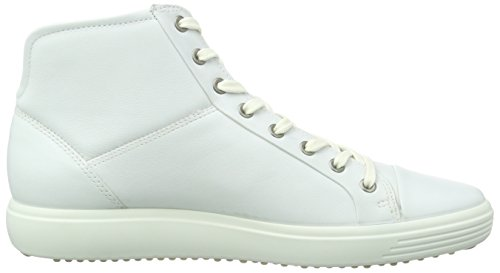 ECCO Ankle Bootie High Women's White 7 Shoes Footwear Soft Top 16rT1qZ