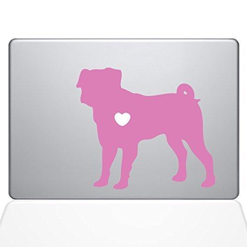 ずっと気になってた The Decal Guru Sticker I Vinyl B078FBP8BN Love My Pug Decal Vinyl Sticker 13 MacBook Air Pink (1487-MAC-13A-BG) [並行輸入品] B078FBP8BN, カーショップナガノ2号店:3faa5e3d --- a0267596.xsph.ru