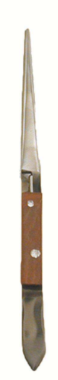 Enkay 1046-C  Wood Grip 6 1/2-Inch Tweezer, Carded