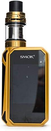 Auténtico Smok Cigarrillo E, Cigarros Electrónicos con TPD Vaporizador Tanque, Cachimba Electronica con Recargable Efest 2 * 3000mAh baterías, Sin Nicotina, Sin Líquido (Black red01)