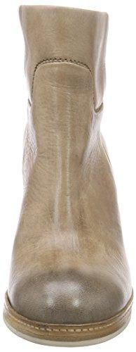 Shabbies Amsterdam New 11cm Booty Stitchwelt Sole Pedula - Botines Mujer Beige
