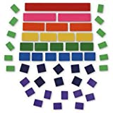 Nasco Blank Fraction Tiles Without Trays - 30 Packages - Math Education Program - TB26693