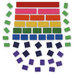 Nasco Blank Fraction Tiles Without Trays - 30 Packages - Math Education Program - TB26693 by Nasco (Image #2)