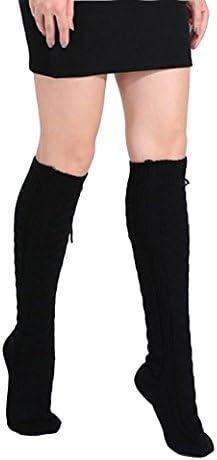 女子用レッグウォーマー ルーズソックス loose socks 足包む レディース靴下 ローグ丈 保温防寒 暖かい ミニスカートとコーデする 秋冬春用ストッキング 純色 編み物 ニット ソックス ファション小物 くつした socks ガールズ 女子高生