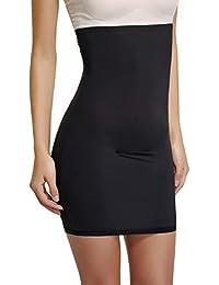 67597fcc8a398 Half Slips for Under Dresses Womens Tummy Control Dress Seamless Slip  Slimming Shapewear