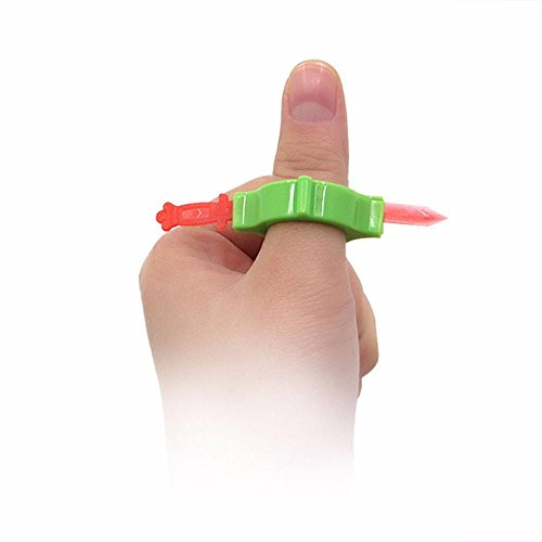 (Belloc Funny Magic Toys - Sword Through Finger Spoof Trick Toy Props - Creative Magic Toy for April Fools' Day, Carnival, Halloween, Costume)