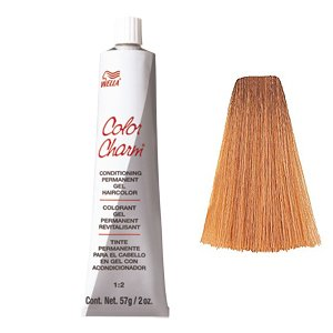 Color Charm Gel Permanent Tube Hair Color 729/8RG Titian Red Blonde