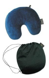 Bucky Utopia Neck Pillow, The Original U-Shaped Travel Pillow, for Comfort and Convenience in Travel - Black