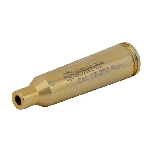 G-Sight BS-22250 .22-250 Rem. Laser Bore SIGHT - Twist Cap, Brass