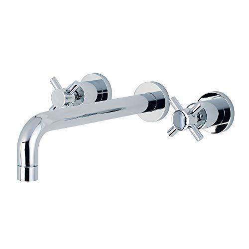 Concord Tub Roman - Kingston Brass KS8021DX Concord 2-Handle Wall Mount Roman Tub Faucet Polished Chrome