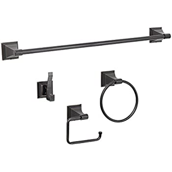 designers impressions 500 series 4 piece oil rubbed bronze bathroom hardware set
