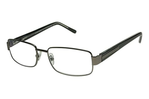 Foster Grant Multifocus Progressive Reading Glasses Wes (Gun Metal, - How Glasses Take To Off Scratches