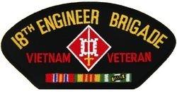 HMC U.S. Army 18th Engineer Brigade Veteran Vietnam Patch...