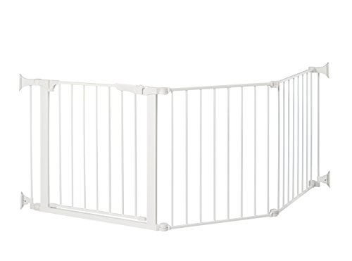"Command Pet Custom Fit Gate, 29.5"", White"