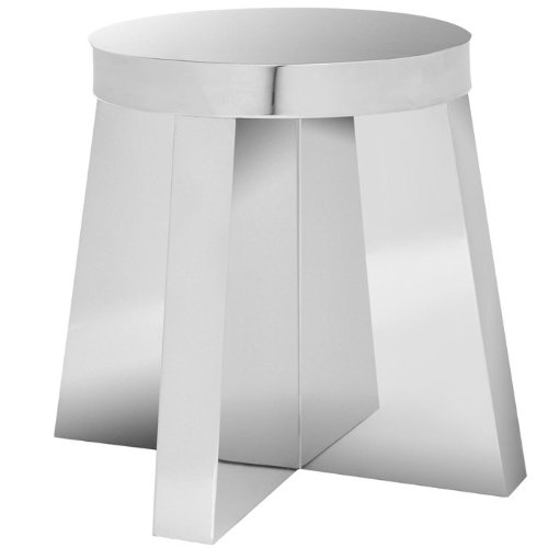 - Safavieh Home Collection Parker Stainless Steel End Table