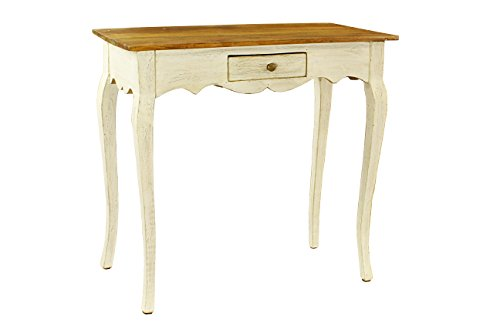 Antique Revival Maryanna Single-Drawer Bureau, White