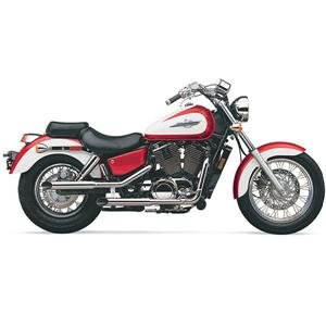 Full System//Chrome Cobra Boulevard Classic Slash Cut Exhaust System